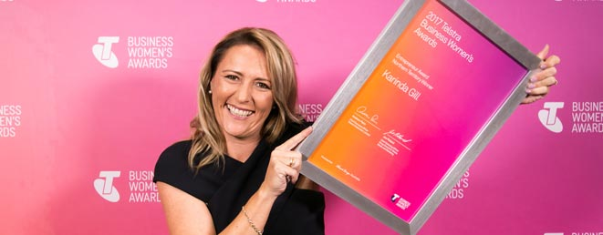 Karinda Gill – 2017 Telstra NT Business Woman of the Year